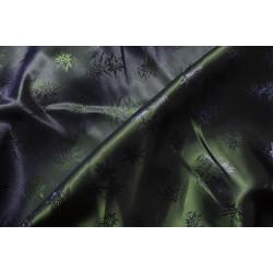 Podšívka zelenomodrá se vzorem