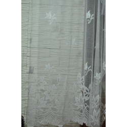 Záclona bílá