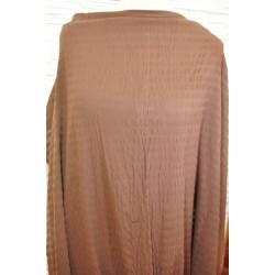 Bavlna s elastanem hnědá
