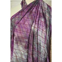 Společenka batika fialová
