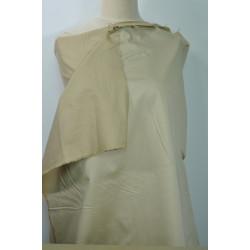 Bavlna streč béžová látka,lesk