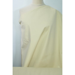 Bavlna streč krémová