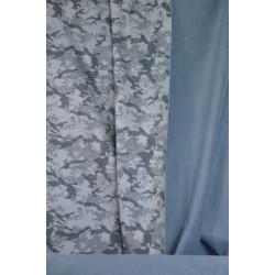Maskáčový softshell šedý