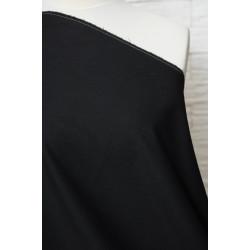 Černá látka na kostým, oblek..