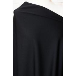 Černá látka na kostým, šaty..