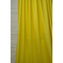 Bavlněná dekorační látka žlutá