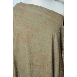 Strečová bavlna hnědookrová