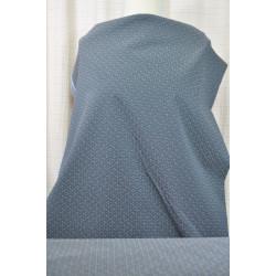 Kostýmovka s modrošedým vzorem