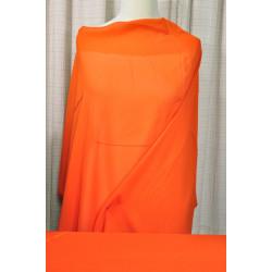 Oranžový viskozový šifon