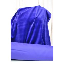Samet bavlna, fialový