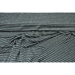Úplet černostříbrný vzor