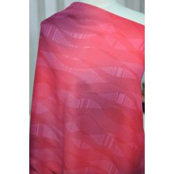 Šatovka  červená se vzorem