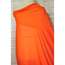 Oranžový šifon
