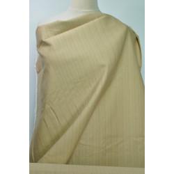Strečová bavlna béžový proužek