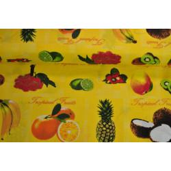 Bavlna tropické ovoce