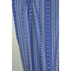 Bavlna, imitace bohaté výšivky