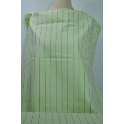 Zelená strečová bavlna s...