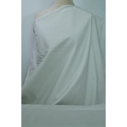 Strečová bavlna bílá s...