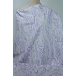 Jeans fialový vzor
