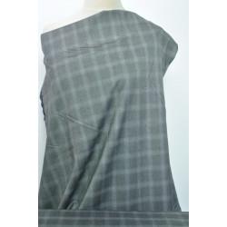 Oblekovka šedé káro