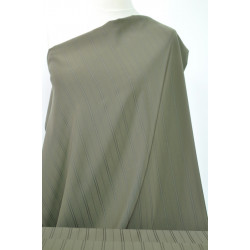 Khaki oblekovka s tkaným...