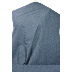 Černošedá bavlněná kostýmovka