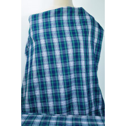 Skotská kostka na košili