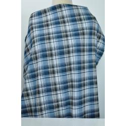 Káro modrobílé na košili,...