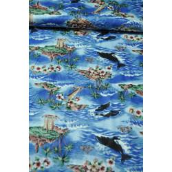 Dětská bavlna delfíni v...