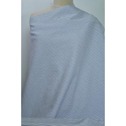 Košilovka bílý a modrý proužek