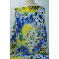 Šatovka modré a žluté květy