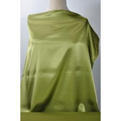 Zelenkavý satén