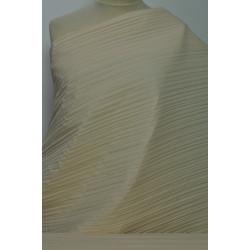 Plisovaná béžová šatovka