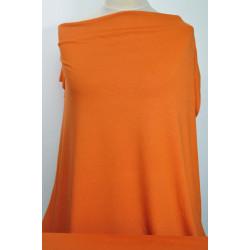 Úplet oranžový s lurexem
