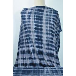 Šedý batikový úplet