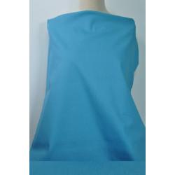 Azurově modrá jemná riflovina