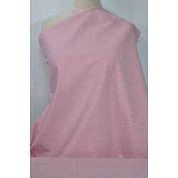 Strečová bavlna, růžová...