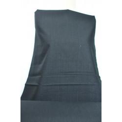 Černá látka, len, polyester