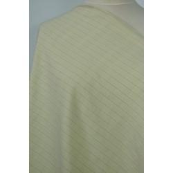 Béžovožlutá košilová látka