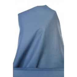 Tmavě modrý len s bavlnou