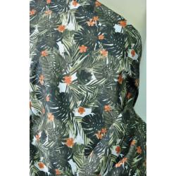 Šatovka s listy a květy
