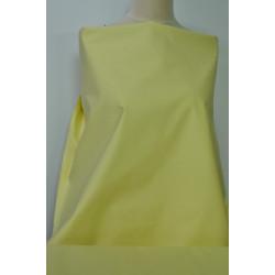 Žlutý strečový len s bavlnou