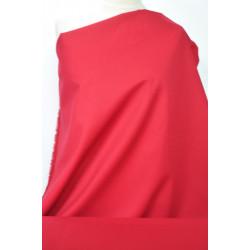Červená strečová bavlna