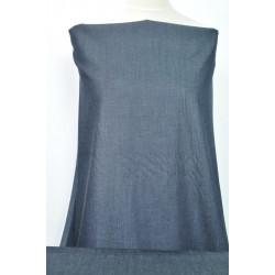 Temně modrá košilová džínovina