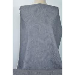 Jeans s šedobílým vzorem