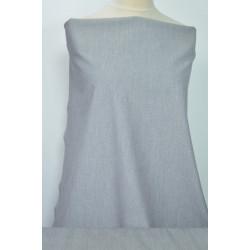 Obleková bíločerná látka