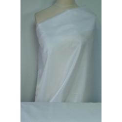 Podšívka polyester, bílá barva