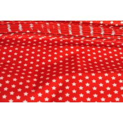Červená bavlna, hvězdičky