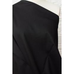 Látka černá na kostým, oblek..