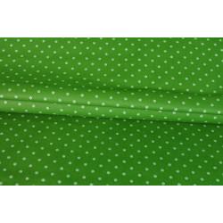 Bavlna zelená s drobným květem